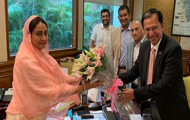 CII calls on Smt Harsimrat Kaur Badal
