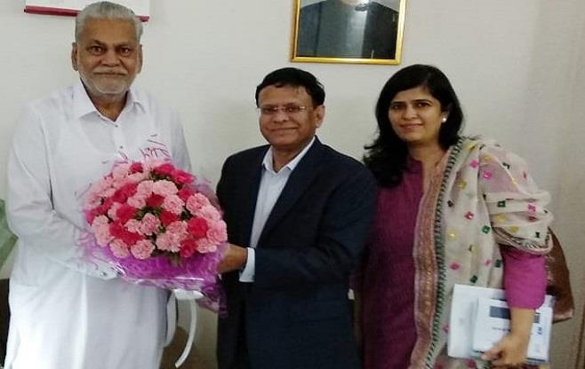 Meeting with Shri Parshottam Rupala