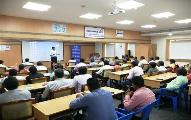 Study mission to JSW Steels Ltd