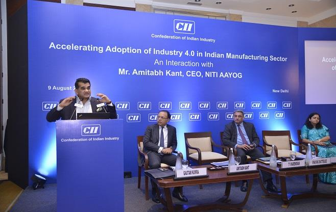 Interaction with Mr Amitabh Kant