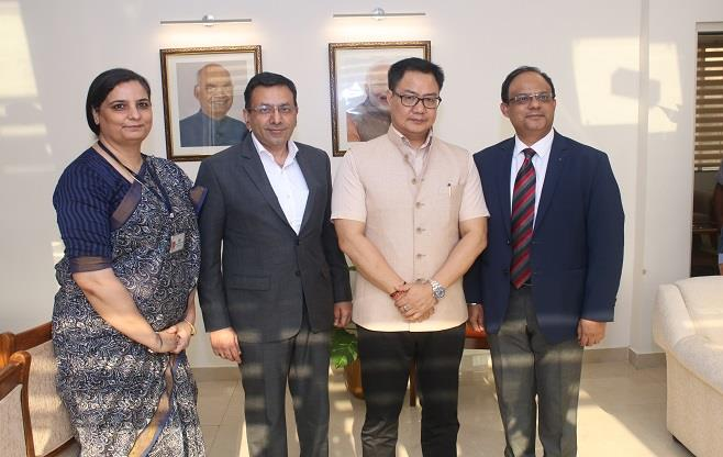 Meeting with Shri Kiren Rijiju