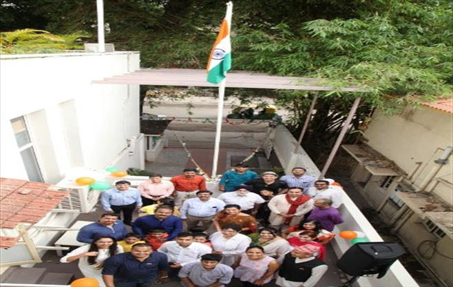 Independence Day Celebrations at CII SR