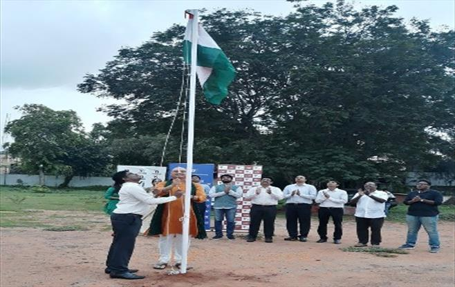 Independence Day Celebrations at CII SR