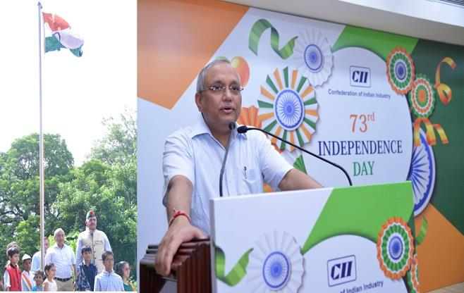 Independence Day Celebration at CII