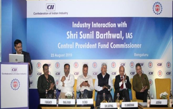 Interaction with Commissioner, PF