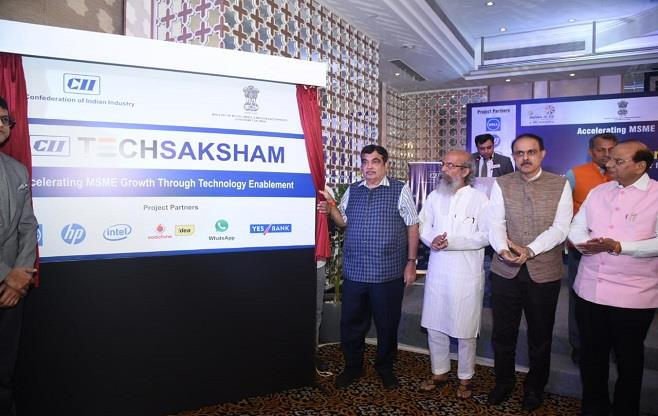 CII TechSaksham for MSMEs Project