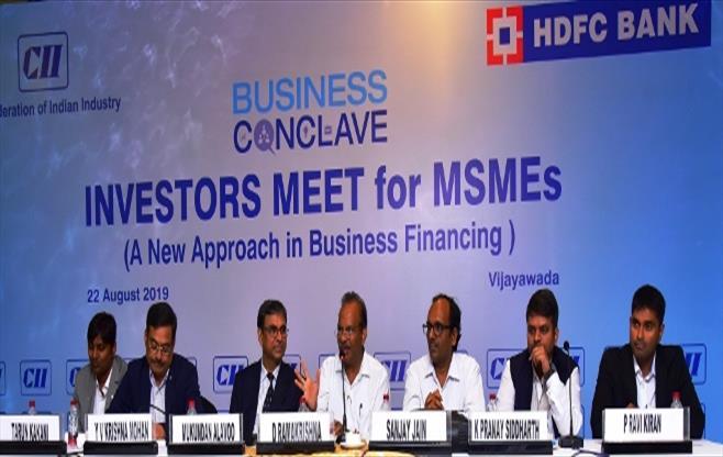 MSME Investors Meet at Vijayawada