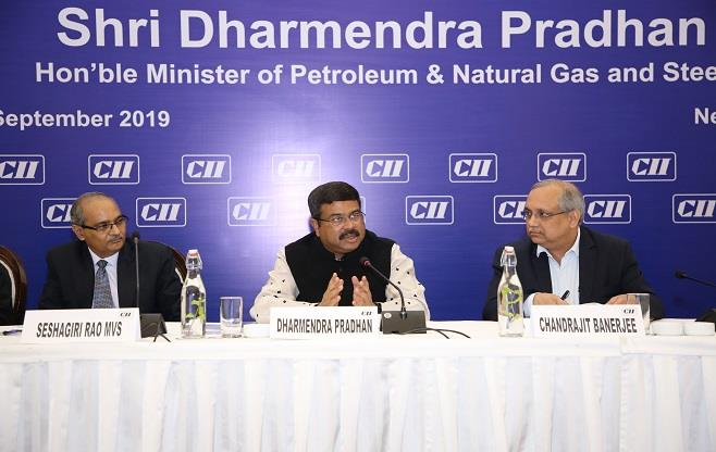 Interaction with Mr Dharmendra Pradhan