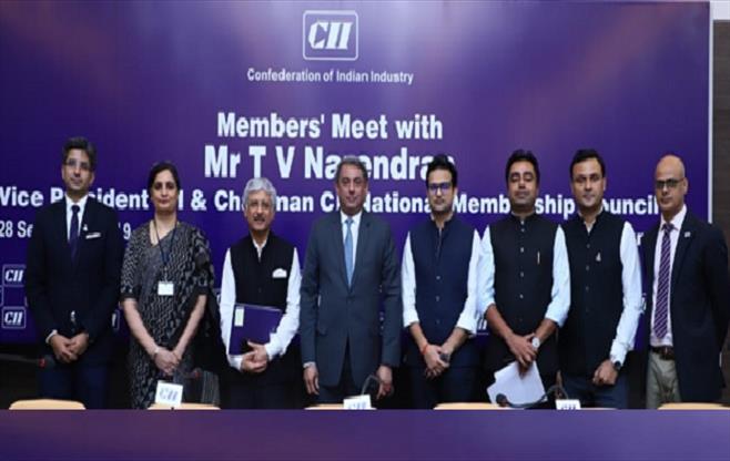 Members' Meet with  Mr T V Narendran