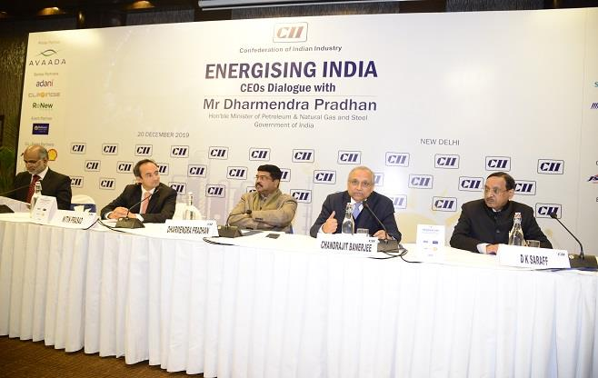 CEOs Dialogue on Energising India