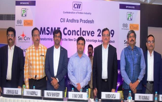 CII Andhra Pradesh MSME Conclave 2019