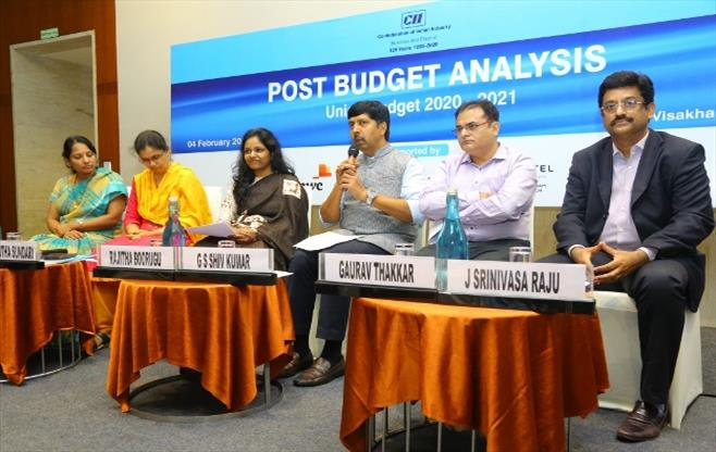 CII Session on Post Budget Analysis