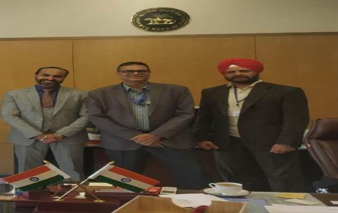 Meeting with Regional Director, RBI