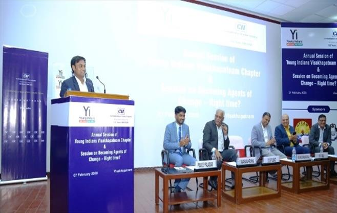 Annual Session of Yi Visakhapatnam