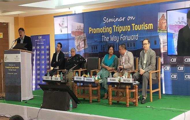 Seminar on Promoting Tripura Tourism