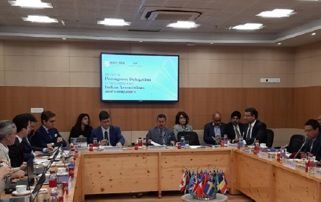 India-Portugal Business Session