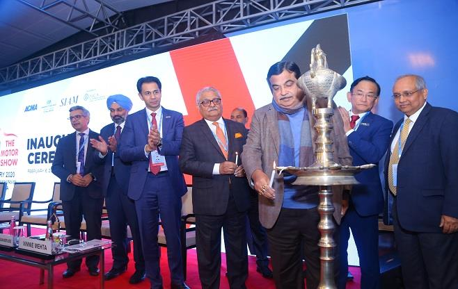 Inauguration of Auto Expo – Motor Show