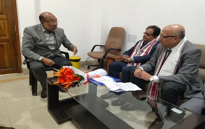 CII call on meeting with CM of Manipur