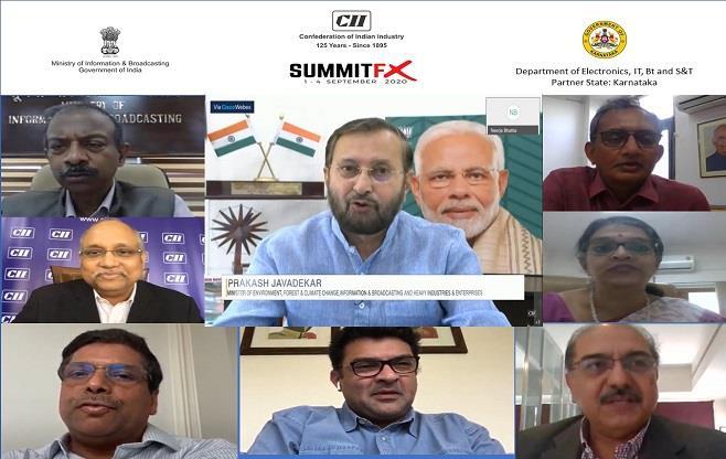 CII's AVGC SUMMITFX Inauguration