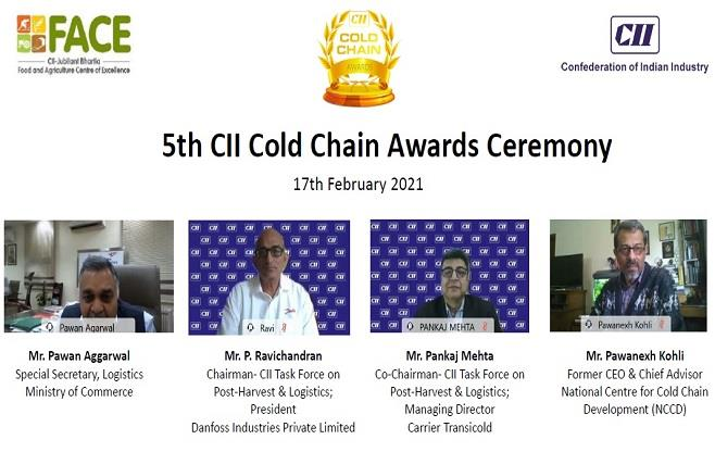 5th CII Cold Chain Awards Ceremony