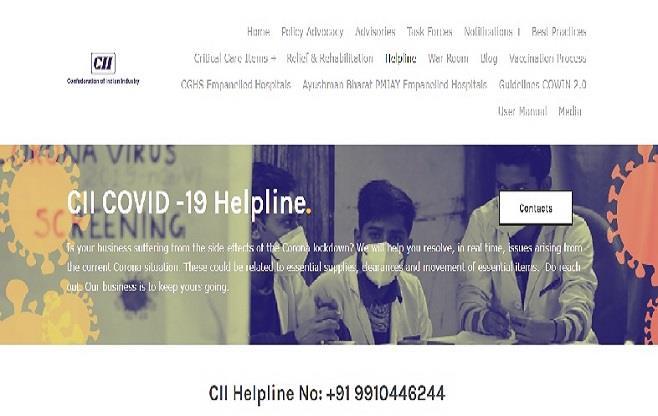 CII COVID - 19 Helpline