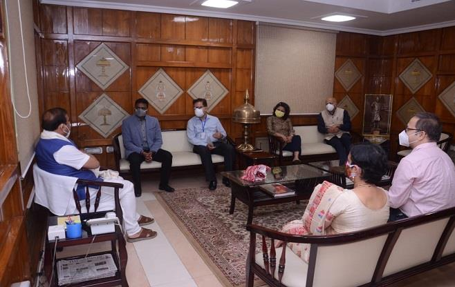 Meeting with Chief Minister of Assam