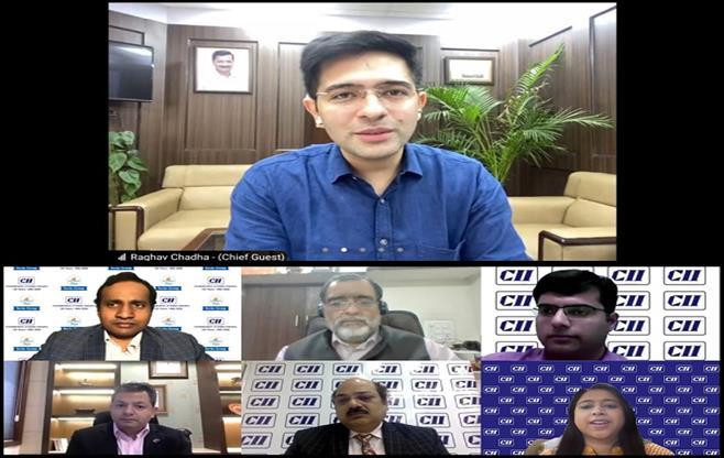 Virtual Meeting with Mr Raghav Chadha