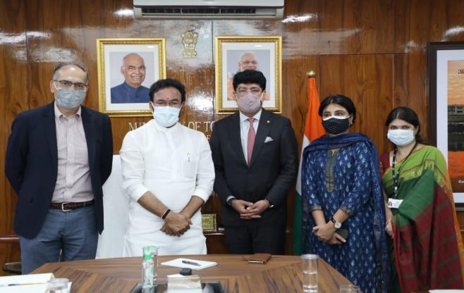 CII Meeting with Minister of Tourism