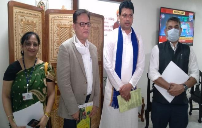 CII calls on Hon'ble CM of Tripura