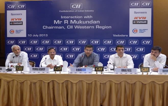 Interaction with CII WR Chairman