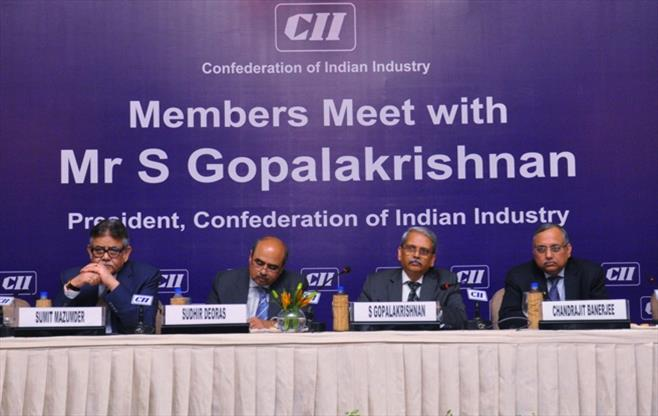 Members Meet with Mr S Gopalakrishnan