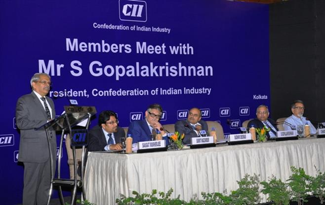 Interaction with President, CII