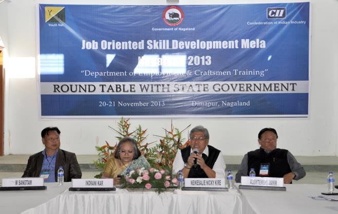 CII Roundtable with Nagaland