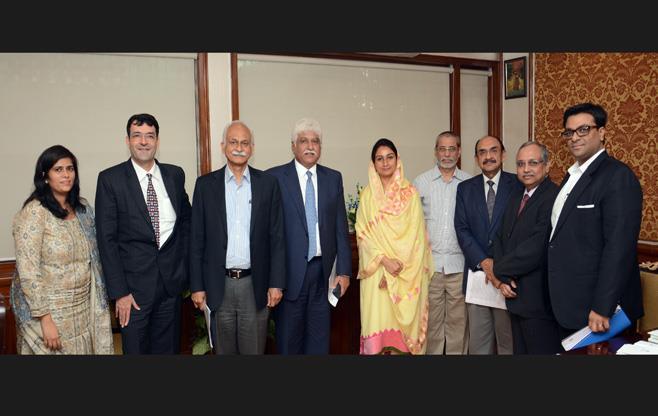 Meeting with Ms Harsimrat Kaur Badal