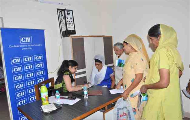 CII Medical Health Camp