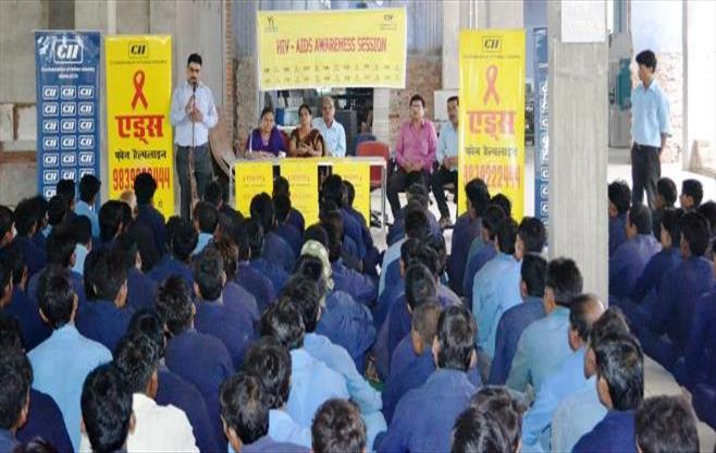 HIV-AIDS awareness session