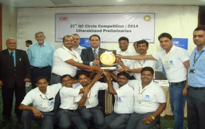 27th QC Circle Competition Haridwar