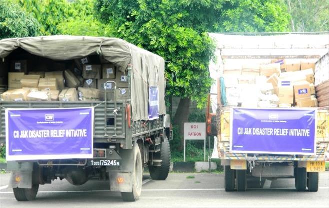 CII J & K Disaster Relief