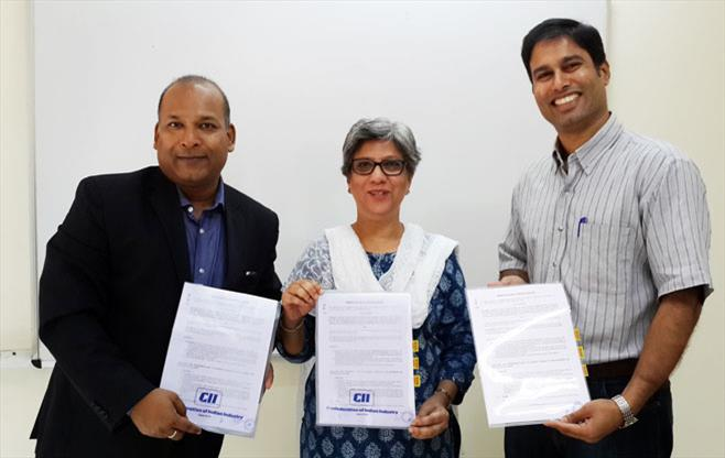 MoU between CII-LinkedIn-Wheebox