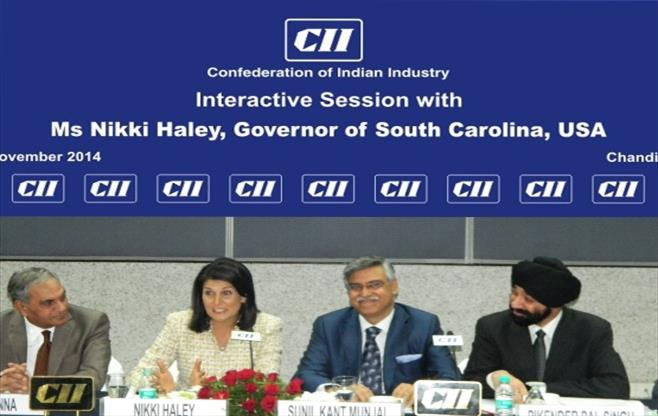 Interactive Session with Ms Nikki Haley