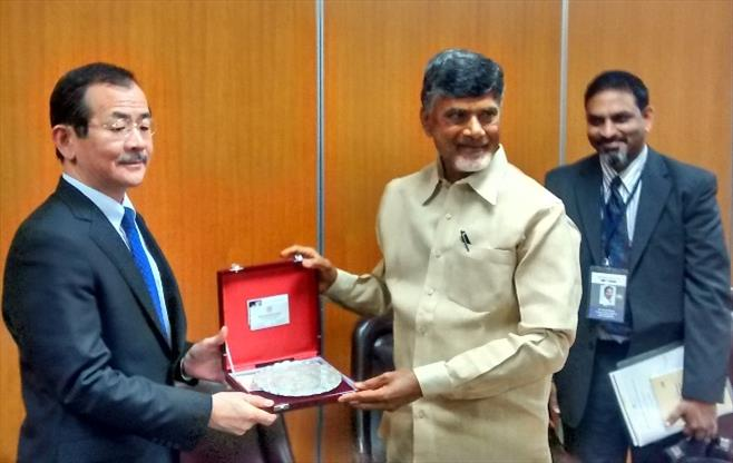 Government of AP Delegation to Japan