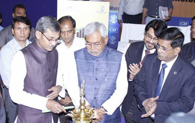 Bihar Chief Minister at Skill Conclave