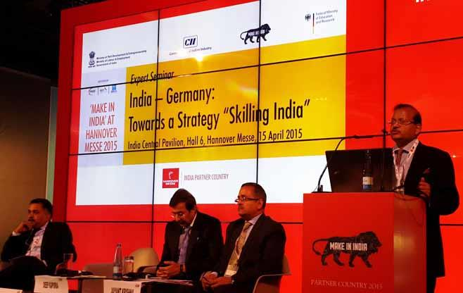 Skill Session at Hannover Messe