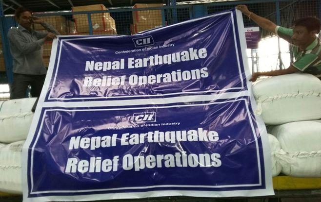 Nepal Earthquake Relief Operations
