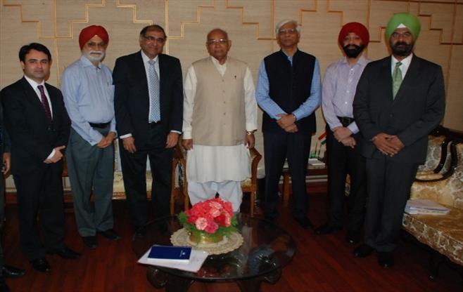 Meeting with Governor Punjab & Haryana