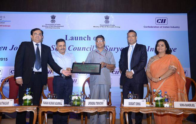 Launch of  Skill Council for Green Jobs