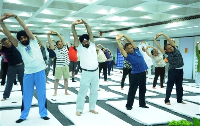 Session on Yoga