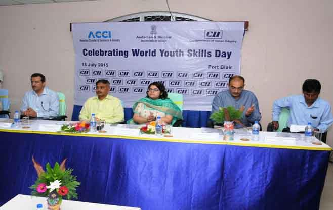World Youth Skills Day at Port Blair