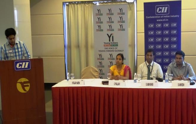 CII Yi Session with NSE on Listing